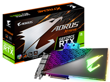 GigaByte AORUS GeForce RTX 2080 Ti XTREME WATERFORCE WB 11G Graphics Card